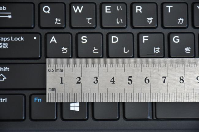 キーピッチはフルサイズ