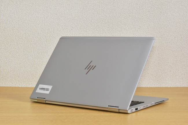 HP EliteBook x360 1030 G2 背面側(その1)