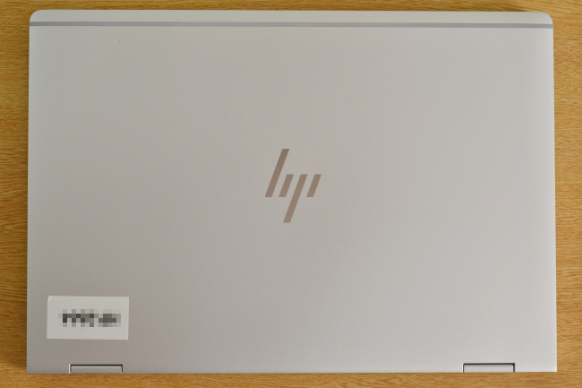 HP EliteBook x360 1030 G2 天面(その1)