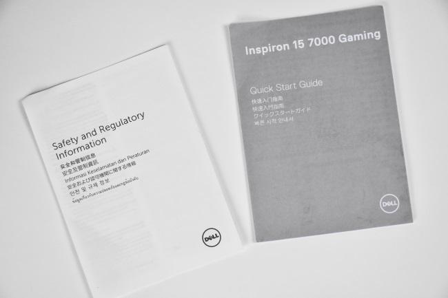 『Inspiron 15 7000ゲーミング』ドキュメント