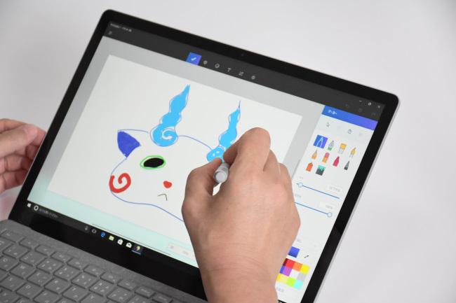 Surface ペンで絵を描く