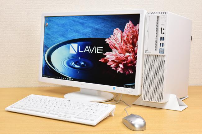 LAVIE Direct DT 正面側(モニタ付き)
