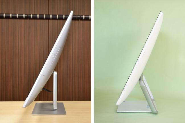 HP Pavilion 27-r000jp 従来モデルとの比較