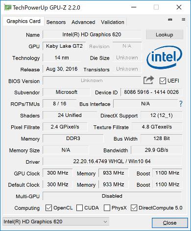 GPU-Z(Graphics)