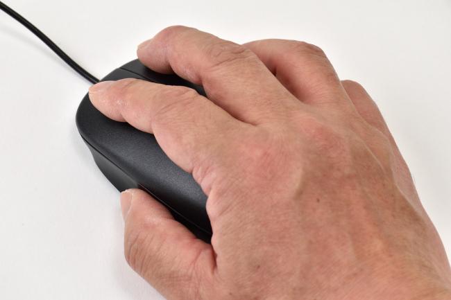 マウスは手のひらにフィット(その1)