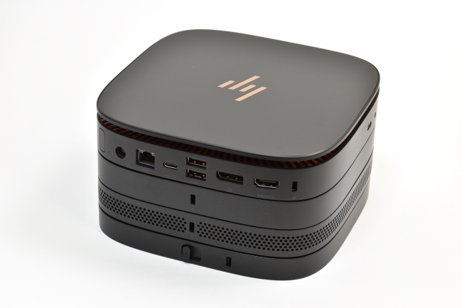 HP Elite Slice 背面
