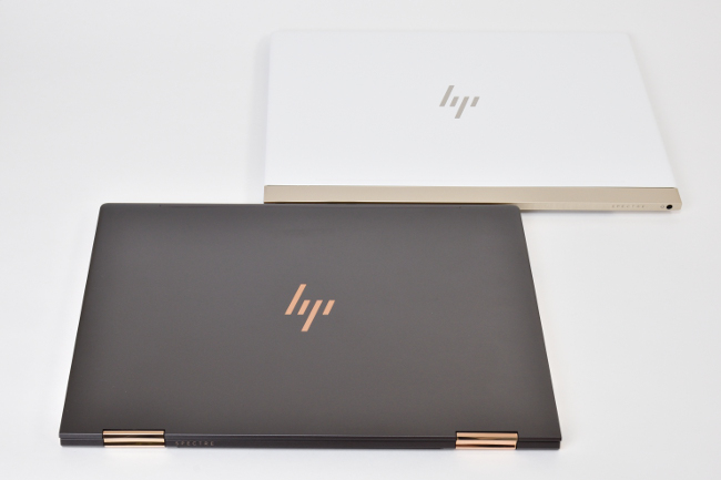 HP Spectre x360 と HP Spectre 13 天面比較