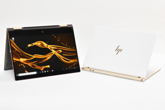 HP Spectre x360 と HP Spectre 13 正面(その2)