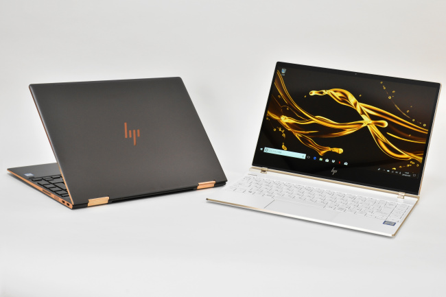 HP Spectre x360 と HP Spectre 13 正面(その3)