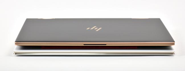 HP Spectre x360 と HP Spectre 13 前面側