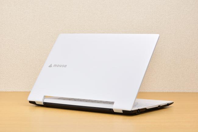 m-Book J350SN-M2SH2 背面側(その1)