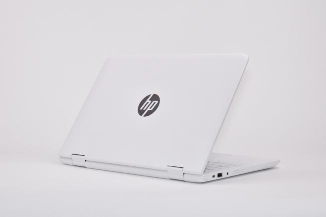 HP x360 11-ab000 背面側(その1)