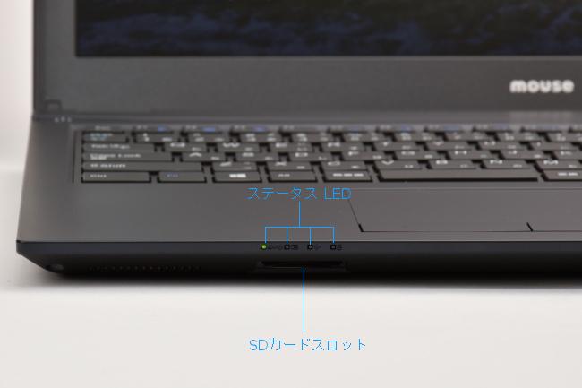 インターフェース(正面)