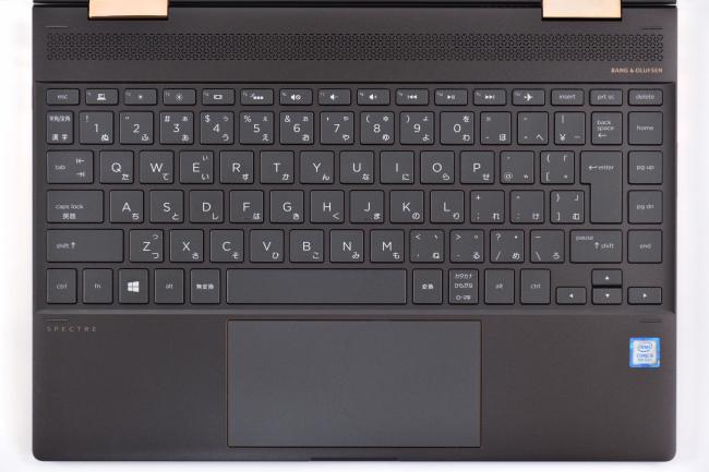 新モデルのキーボード