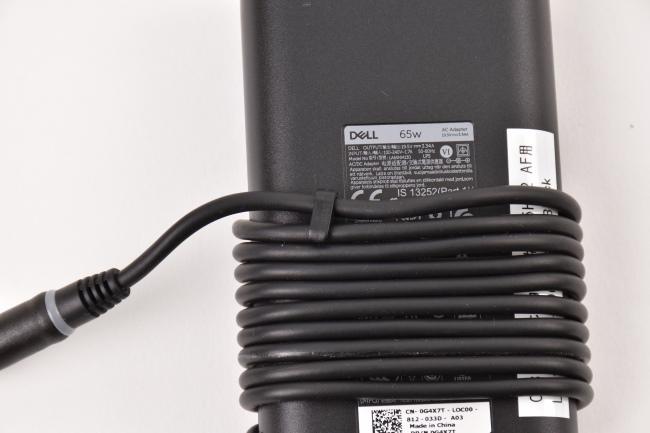 電源アダプターコードのクリップ