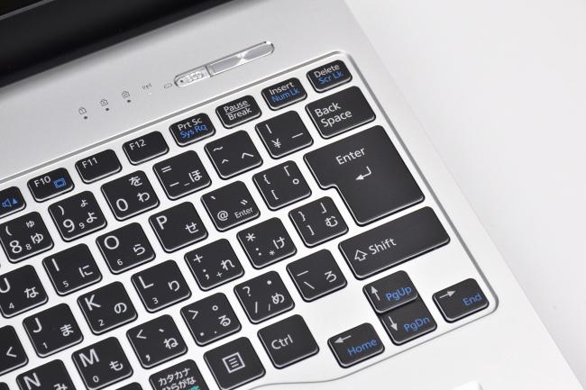 キーボードのクセ([Home][End][PgUp][PgDn]など)