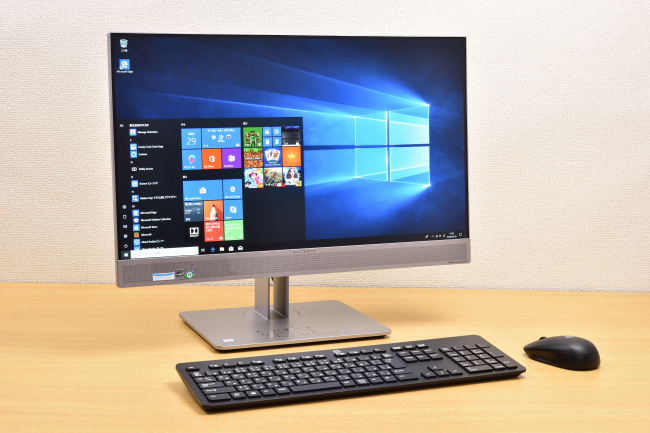 HP EliteOne 800 G3 All-in-One 正面側(その2)