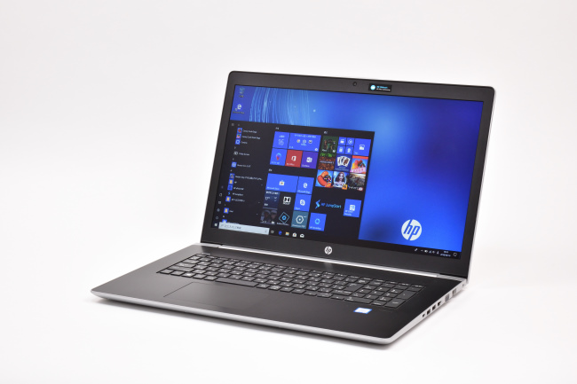 HP ProBook 470 G5 Notebook PC 正面(その3)
