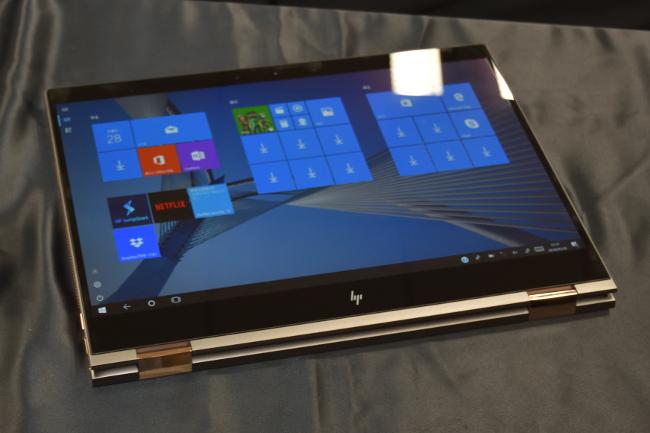 HP Spectre 15 x360 タブレットモード