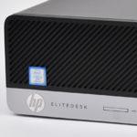 『HP EliteDesk 800 G3 SF』レビュー 省スペースでも高い拡張性!縦横自在に置けるビジネス向けデスクトップPC(前編)