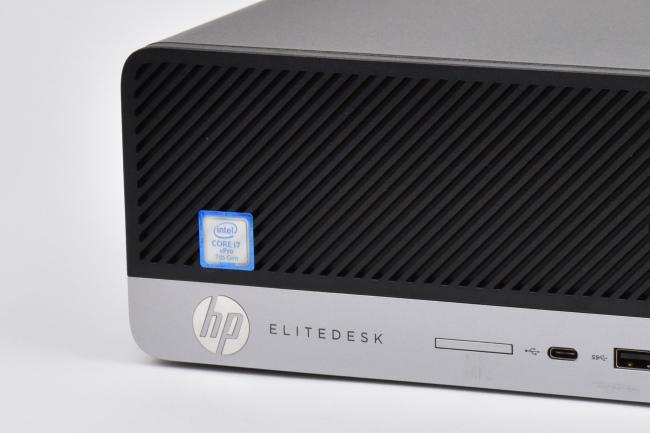HP EliteDesk 800 G3 SF 正面ズーム