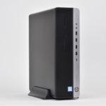 『HP EliteDesk 800 G3 SF』レビュー 省スペースでも高い拡張性!縦横自在に置けるビジネス向けデスクトップPC(後編)