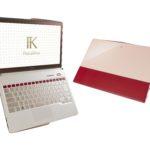 富士通『Floral Kiss』(LIFEBOOK CH75/W) 女性らしさが輝くエレガントなデザイン!スマートに使えるモバイルノートパソコン!