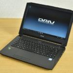 マウスコンピューター DAIV-NG4500シリーズ『DAIV-NG4500M1-SH2』レビュー 写真・動画編集が快適なモバイルノート(前編)