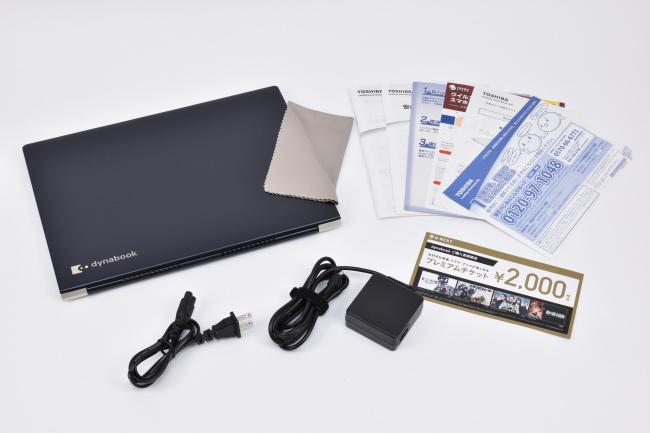 『dynabook UZ63/F』本体セット