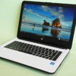 『HP 14-ac100』レビュー Windows10搭載でさらに使いやすくなったホワイトシルバーのボディがオシャレな14.0型ノート(後編)