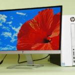 『HP 22er モニター』実機レビュー コンパクトで省スペースのスタイリッシュ・ディスプレイ
