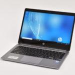 『HP EliteBook Folio G1』レビュー 薄型・軽量で携帯性に優れた12.5型ビジネスモバイルノート(前編)