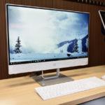 『HP Pavilion 24-x000jp』展示機レビュー 快適性と使いやすさがアップ!洗練されたデザインの大画面オールインワンPC