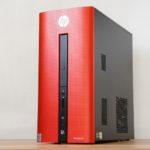 『HP Pavilion 550-240jp/CT』第6世代Core搭載!パフォーマンスがアップしたスタイリッシュデザイン・ミニタワーPC