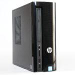 日本HP『HP Slimline 270』性能が進化!置き場所に困らないスリムデザインのデスクトップPC