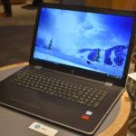 日本HP『HP 17-bs000』展示機レビュー 大画面ながらスタイリッシュな 17.3型ノートPC