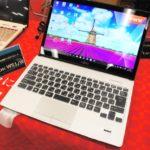 富士通『LIFEBOOK WS1/W』展示モデルレビュー Windows10&第6世代Core搭載13.3型モバイルノートPC