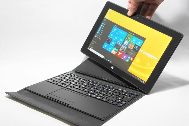マウスコンピューター 10.1型タブレットPC『MT-WN1001』!手軽に使える Windows10搭載 2in1 PCのご紹介