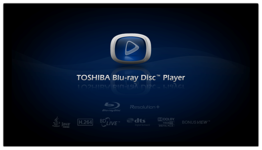 TOSHIBA Blu-ray Disc Player