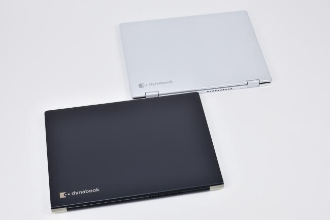 dynabook VZ82 と dynabook UZ63 天面