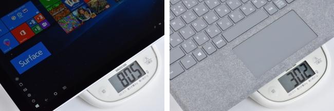 本体の重さ(その2)