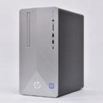 『HP Pavilion Desktop 595』レビュー 写真・動画編集も快適パフォーマンス!スタイリッシュデザインのデスクトップPC(前編)