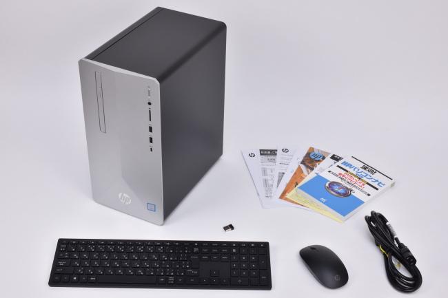 『HP Pavilion Desktop 595』本体セット