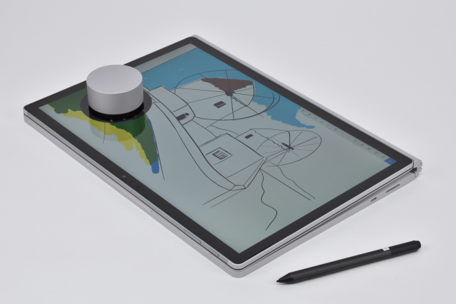 Surface Dial をディスプレイ上に(その1)