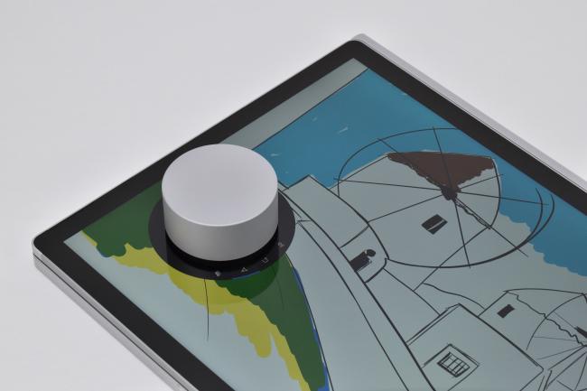 Surface Dial をディスプレイ上に(その2)