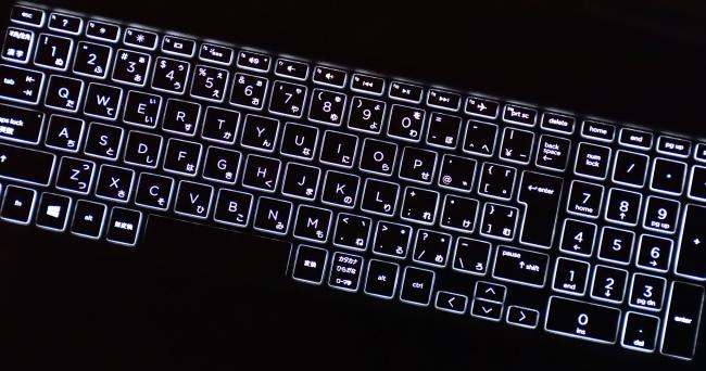 キーボードバックライト(その1)