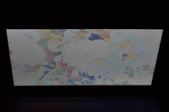 上側 ディスプレイ面から45度の角度