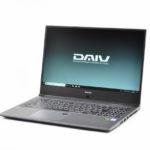 マウス『DAIV-NG5510シリーズ』レビュー モバイルできる高性能な 15.6型クリエイティブノートPC