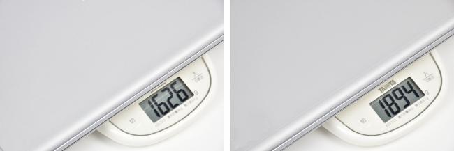 本体の重さ(キーボード+タブレット)