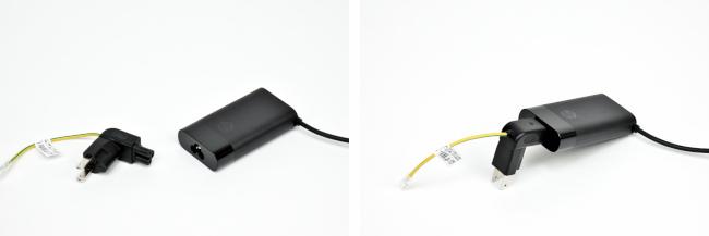 電源アダプターとプラグ